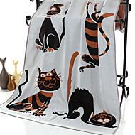 baratos Toalha de Banho-Qualidade superior Toalha de Banho, Animal 100% algodão Banheiro 1 pcs