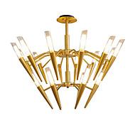 billige Takbelysning og vifter-LWD Sputnik / Cone / Geometrisk Lysekroner Metall Kreativ, Nytt Design, Stearinlys Stil 110-120V / 220-240V Pære ikke Inkludert / G9