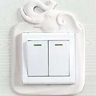 billiga Väggklistermärken-Klistermärken för strömbrytare - Lysande Väggstickers Former Inomhus