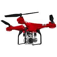Χαμηλού Κόστους -RC Ρομποτάκι SH5HD 4 Kανάλια 6 άξονα 2,4 G Με κάμερα HD 0.3MP Ελικόπτερο RC με τέσσερις έλικες FPV / Επιστροφή με ένα kουμπί / Auto-Απογείωση Ελικόπτερο RC με T / Περιστροφική πτήση 360 μοιρών