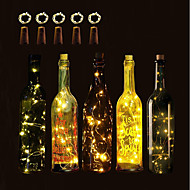 παράταση 10 μπουκάλι κρασί μπουκάλι κρασί χάλκινο φως σειρά χριστουγεννιάτικα αποκριάτικα γαμήλια δεξίωση και εσωτερική διακόσμηση 5τμ
