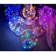 billige Globepærer med LED-1pc e26 / e27 led globe pærer 20 ledd perler dekorative stjernehøye 85-265v romantisk atmosfære lampe