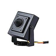 billige Overvåkningskameraer-hd ahd 2.0mp stjerne mini cctv video skjerm svart metall firkant sikkerhet kamera 3.7mm linse størrelse 34mm * 34mm
