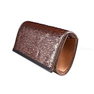 baratos Clutches & Bolsas de Noite-Mulheres Bolsas Poliéster / PVC Bolsa de Festa Lantejoulas Prata / Vermelho / Azul Real