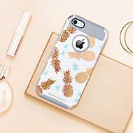 billiga Mobil cases & Skärmskydd-BENTOBEN fodral Till Apple iPhone 5-fodral Plätering / Genomskinlig / Mönster Skal Frukt Mjukt TPU / PC för iPhone SE / 5s / iPhone 5