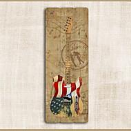 tanie Dekoracje ścienne-Instrumenty muzyczne Dekoracja ścienna Drewno Europejskie Wall Art, Ozdoby ścienne Dekoracja