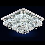 billige Taklamper-UMEI™ Sirkelformet / Krystall / Geometrisk Takplafond Omgivelseslys - Krystall, Justerbar, Mulighet for demping, 110-120V / 220-240V, Varm Hvit / Hvit, LED lyskilde inkludert