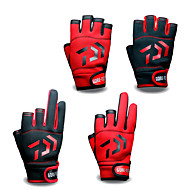 cheap Fishing-Fishing Gloves / Bike Gloves / Cycling Gloves Wearable / Breathable / Skidproof Silicon / Polyester Microfiber Spring, Fall, Winter, Summer Unisex Fishing / Bike