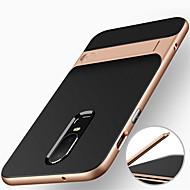 billiga Mobil cases & Skärmskydd-fodral Till OnePlus OnePlus 6 Stötsäker / med stativ Skal Rustning Hårt PC för OnePlus 6 / One Plus 5 / OnePlus 5T
