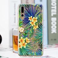 billiga Mobil cases & Skärmskydd-fodral Till Huawei P20 Pro / P20 lite Genomskinlig / Mönster Skal Landskap Mjukt TPU för Huawei P20 / Huawei P20 Pro / Huawei P20 lite