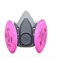 1pc Kulfiber Filre Maske Sikkerhed og beskyttelsesudstyr Vand resistent Støvsikker Åndbart