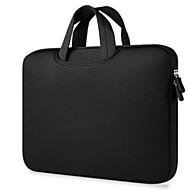 billige Computertasker-polyester Geometrisk Laptoptaske Solid Geometrisk Sort / Lys pink