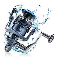 billiga Fiske-Fiskerullar Snurrande hjul 5.5:1 Växlingsförhållande+7 Kullager Hand Orientering utbytbar Sjöfiske / Kastfiske / Drag-fiske