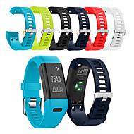 billiga Smart klocka Tillbehör-Klockarmband för Vivosmart HR Garmin Sportband Silikon Handledsrem