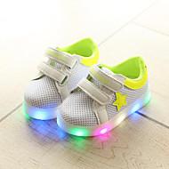 baratos Sapatos de Menino-Para Meninos / Para Meninas Sapatos Com Transparência Primavera Verão Conforto / Tênis com LED Tênis Colchete / LED para Infantil / Bébé Preto / Vermelho / Verde