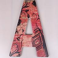 tanie Dekoracje ścienne-Litery Dekoracja ścienna Drewno Europejskie Wall Art, Ozdoby ścienne Dekoracja