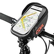 Χαμηλού Κόστους Κάλυμμα ποδηλάτου-Τσάντα για τιμόνι ποδηλάτου 5.5 inch Ποδηλασία για iPhone 8 Plus / 7 Plus / 6S Plus / 6 Plus Μαύρο