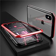 Case Kompatibilitás Apple iPhone XR / iPhone XS Max Átlátszó / Mágneses Héjtok Egyszínű Kemény Hőkezelt üveg mert iPhone XS / iPhone XR / iPhone XS Max