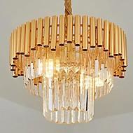 billiga Belysning-QIHengZhaoMing 3-Light Ljuskronor Glödande 110-120V / 220-240V, Varmt vit, Glödlampa inkluderad