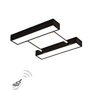 billige Udsalg-Geometrisk / Originale Takplafond Omgivelseslys Metall Øyebeskyttelse, Mulighet for demping 220-240V Dimbar med fjernkontroll LED lyskilde inkludert / Integrert LED