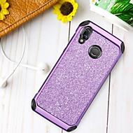 billiga Mobil cases & Skärmskydd-BENTOBEN fodral Till Huawei P20 lite Stötsäker / Plätering / Glittrig Skal Glittrig Hårt TPU / PC för Huawei P20 lite