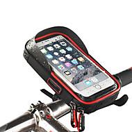 billige Sykkeltilbehør-Telefonstativ til sykkel Vanntett, Bærbar, Anvendelig Sykling / Sykkel / Fjellsykkel / Vei Sykkel Vanntett materiale Svart / Rød / Blå - 1 pcs