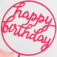 baratos Utensílios de Decoração-Ferramentas bakeware Plástico Gadget de Cozinha Criativa / Aniversário para bolo Sobremesa decoradores 1pç