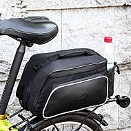 Χαμηλού Κόστους Διπλές τσάντες σέλας ποδηλάτου-ROSWHEEL 10 L Τσάντα αποσκευών για ποδήλατο / Διπλή τσάντα σέλας ποδηλάτου Αδιάβροχη, Αδιάβροχο, Φοριέται Τσάντα ποδηλάτου 600D Ripstop Τσάντα ποδηλάτου Τσάντα ποδηλασίας Ποδηλασία Υπαίθρια Άσκηση