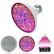 billige Spotlys med LED-1pc 6 W 150-180 lm E26 / E27 Voksende lyspære 200 LED perler SMD 2835 Fullt Spektrum 85-265 V