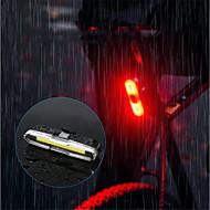 billige Sykkellykter og reflekser-sikkerhet lys LED Sykkellykter Sykling Vanntett, Bærbar, Holdbar Oppladbart Batteri 150 lm Usb Sykling