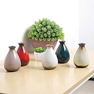 billige Kunstige blomster-Kunstige blomster 0 Gren Klassisk / Singel Vintage Vase Bordblomst