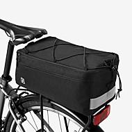 Χαμηλού Κόστους Διπλές τσάντες σέλας ποδηλάτου-ROSWHEEL 8 L Τσάντα αποσκευών για ποδήλατο / Διπλή τσάντα σέλας ποδηλάτου Αδιάβροχη, Αδιάβροχο, Φοριέται Τσάντα ποδηλάτου 600D Ripstop Τσάντα ποδηλάτου Τσάντα ποδηλασίας Ποδηλασία Υπαίθρια Άσκηση