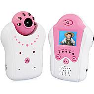 billige IP-kameraer-fabrikk oem® 0,3 mp baby monitor cmos / ir kamera 62 ° ° c nattesyn rekkevidde 5 m 2,4 hz