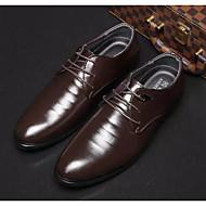 baratos Sapatos Masculinos-Homens Sapatos Confortáveis Microfibra Primavera & Outono Oxfords Preto / Marron