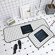 Χαμηλού Κόστους χαλιά-Χαλάκια Εξώπορτας Γεωμετρικό Σχέδιο Πολυεστέρας, Τετράγωνο Ανώτερη ποιότητα Χαλί