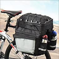 Χαμηλού Κόστους Διπλές τσάντες σέλας ποδηλάτου-36-55 L Τσάντα αποσκευών για ποδήλατο / Διπλή τσάντα σέλας ποδηλάτου Προσαρμόσιμη, Φορητό, Ελαφρύ Τσάντα ποδηλάτου Νάιλον Τσάντα ποδηλάτου Τσάντα ποδηλασίας Ποδηλασία Κατασκήνωση / Πατίνι