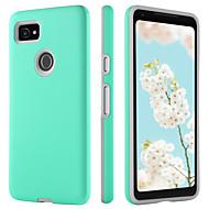 billiga Mobil cases & Skärmskydd-BENTOBEN fodral Till Google Pixel 2 XL Stötsäker / Ultratunt / Wireless Charging Receiver Case Skal Enfärgad Hårt TPU / PC för Pixel 2 XL
