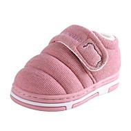 Χαμηλού Κόστους Παιδικά Slipper-Αγορίστικα / Κοριτσίστικα Παπούτσια Βαμβάκι Χειμώνας Ανατομικό Παντόφλες & flip-flops για Νήπιο Βυσσινί / Πράσινο / Ροζ