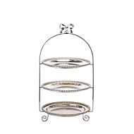 billiga Bordsservis-1 st Metall Ny Design Flata tallrikar / Bricka, servis
