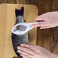 tanie Akcesoria kuchenne-Narzędzia kuchenne ABS Wygodny uchwyt / Kreatywny gadżet kuchenny Przybory do owoców morza Rybki 1 szt.