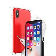 billiga Mobil cases & Skärmskydd-fodral Till Apple iPhone XR / iPhone XS Max Ultratunt Skal Enfärgad Mjukt Silikon för iPhone XS / iPhone XR / iPhone XS Max
