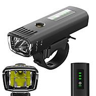 LED Światła rowerowe Światła przednie Przednia lampka rowerowa Kolarstwo górskie Kolarstwo Wodoodporny Antyrefleksyjny Światłomierz Akumulator litowo-jonowy 650 lm Biały Kemping / turystyka / ABS