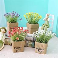 billige Kunstig Blomst-Kunstige blomster 1 Afdeling Klassisk / Enkel Rustikt / minimalistisk stil Brudeslør / Vase Bordblomst