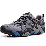 baratos Sapatos Masculinos-Homens Sapatos Confortáveis Com Transparência / Pele Verão Esportivo / Vintage Tênis Água / Tênis Anfíbio Massgem Marron / Azul / Khaki