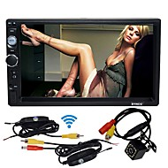 byncg 7 inç 2 din windows ce 6.0 hd dokunmatik ekran / mp3 / dahili bluetooth evrensel destek / sd / usb desteği / tf kartı kablosuz dikiz kamera