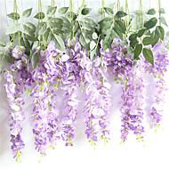 billige Kunstig Blomst-Kunstige blomster 1 Afdeling Vægmonteret / Suspenderet Rustikt / Bryllup Evige blomster kurv med blomster