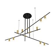 billiga Belysning-ZHISHU 9-Light Geometriskt Ljuskronor Glödande Elektropläterad Målad Finishes Metall Ny Design 110-120V / 220-240V Varmt vit / Vit Glödlampa inkluderad / E26 / E27