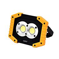baratos Focos-HKV 1pç 10 W Focos de LED Novo Design Branco Frio 5 V Iluminação Externa 2 Contas LED
