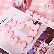 billige Kontor Supply & Dekorasjoner-Metall Rosa 10pcs Klemme 3*3 cm