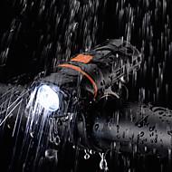 preiswerte -Fahrradlicht LED Radlichter Radsport Wasserfest, Tragbar, Schnellspanner Wiederaufladbarer Akku 1000 lm Wiederaufladbarer Akku Weiß Camping / Wandern / Erkundungen / Radsport - ROCKBROS